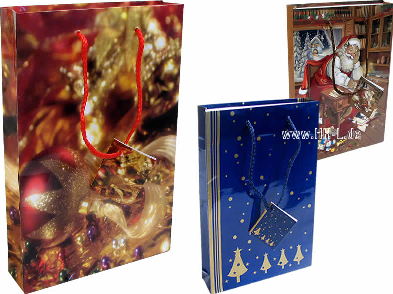 Gift Bags CD / DVD<br> (150x35x229mm),<br>Christmas