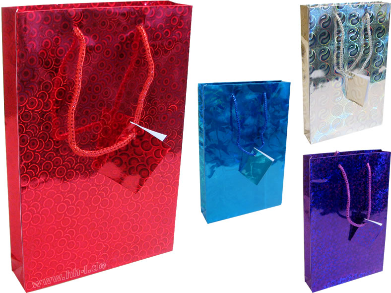 Gift Bags CD / DVD<br> (150x35x229 mm),<br>holography