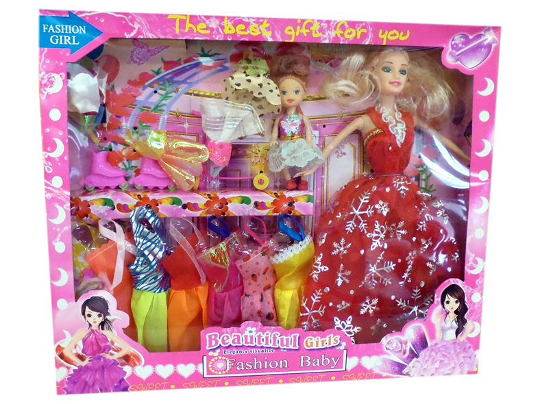 Doll kit sorted<br>with child often