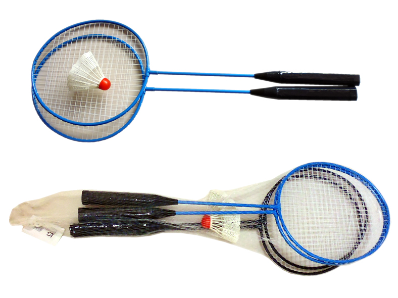 Badminton Set, 2<br> rackets and a<br>shuttlecock